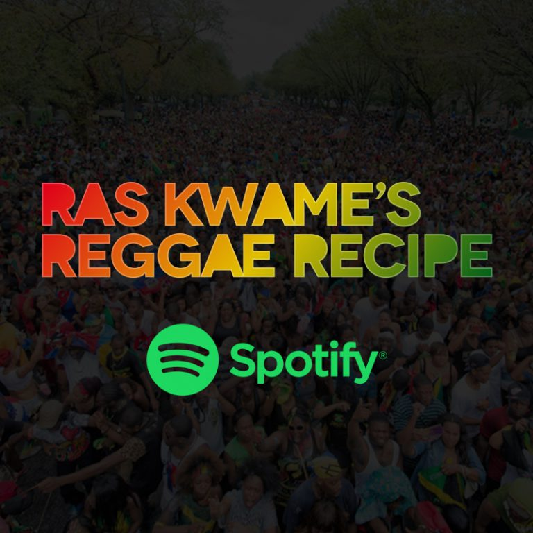 Ras Kwame's Reggae Recipe on Spotify