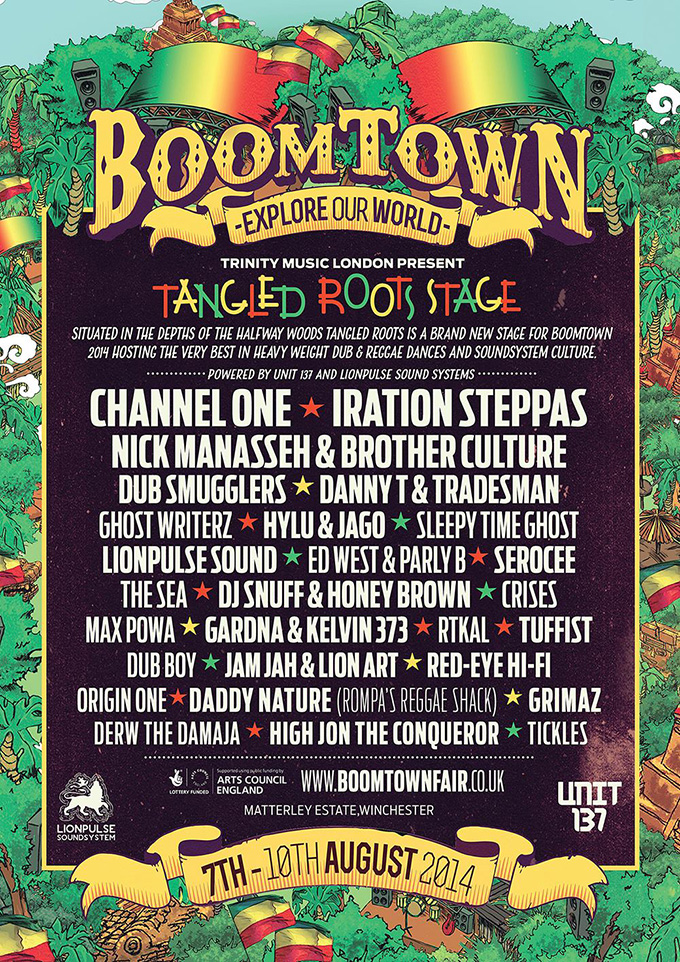 Tangled Roots @ BoomTown Fair