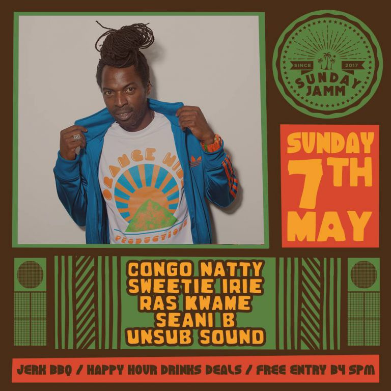 Ras Kwame at Sunday Jamm