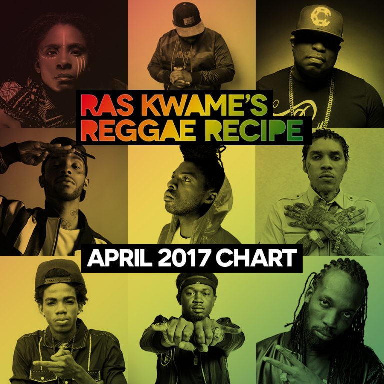The Reggae Recipe Chart April 2017
