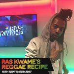 #ReggaeRecipe 18/09/17