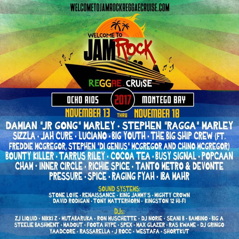 Welcome To Jamrock Reggae Cruise Recap