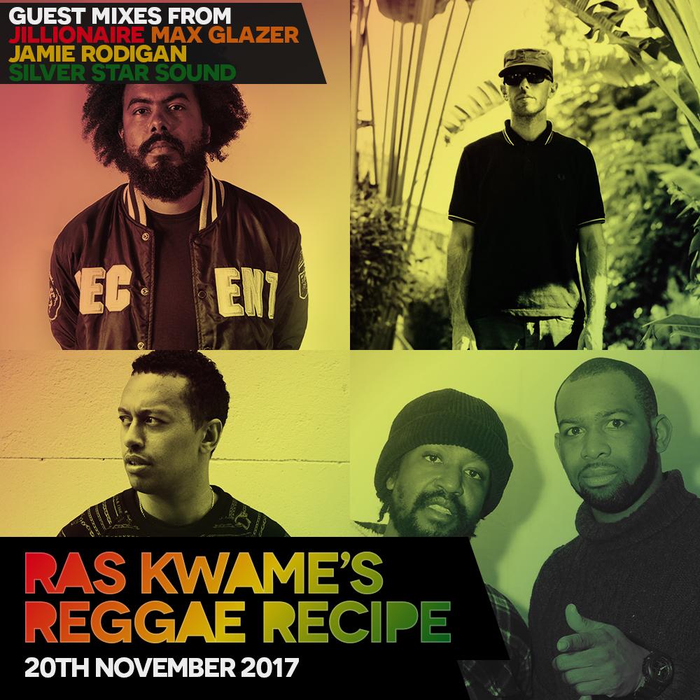 #ReggaeRecipe 20/11/17