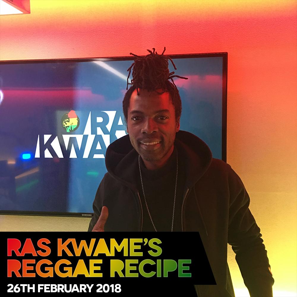 #ReggaeRecipe 26/02/18