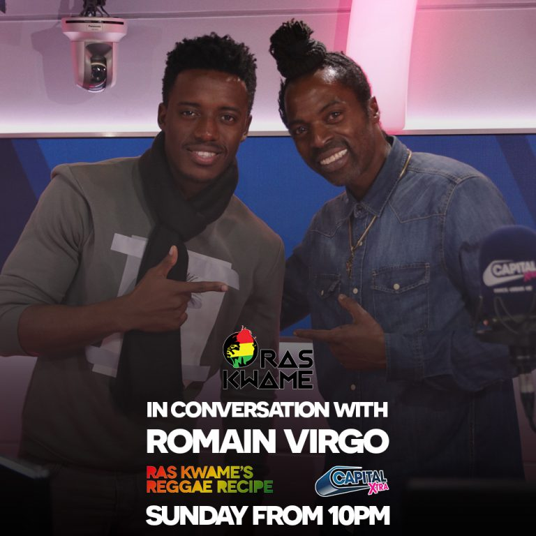 Romain Virgo in conversation this Sunday!