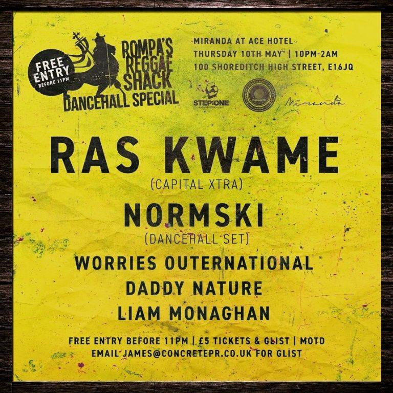 Rompa's Reggae Shack – Dancehall Special