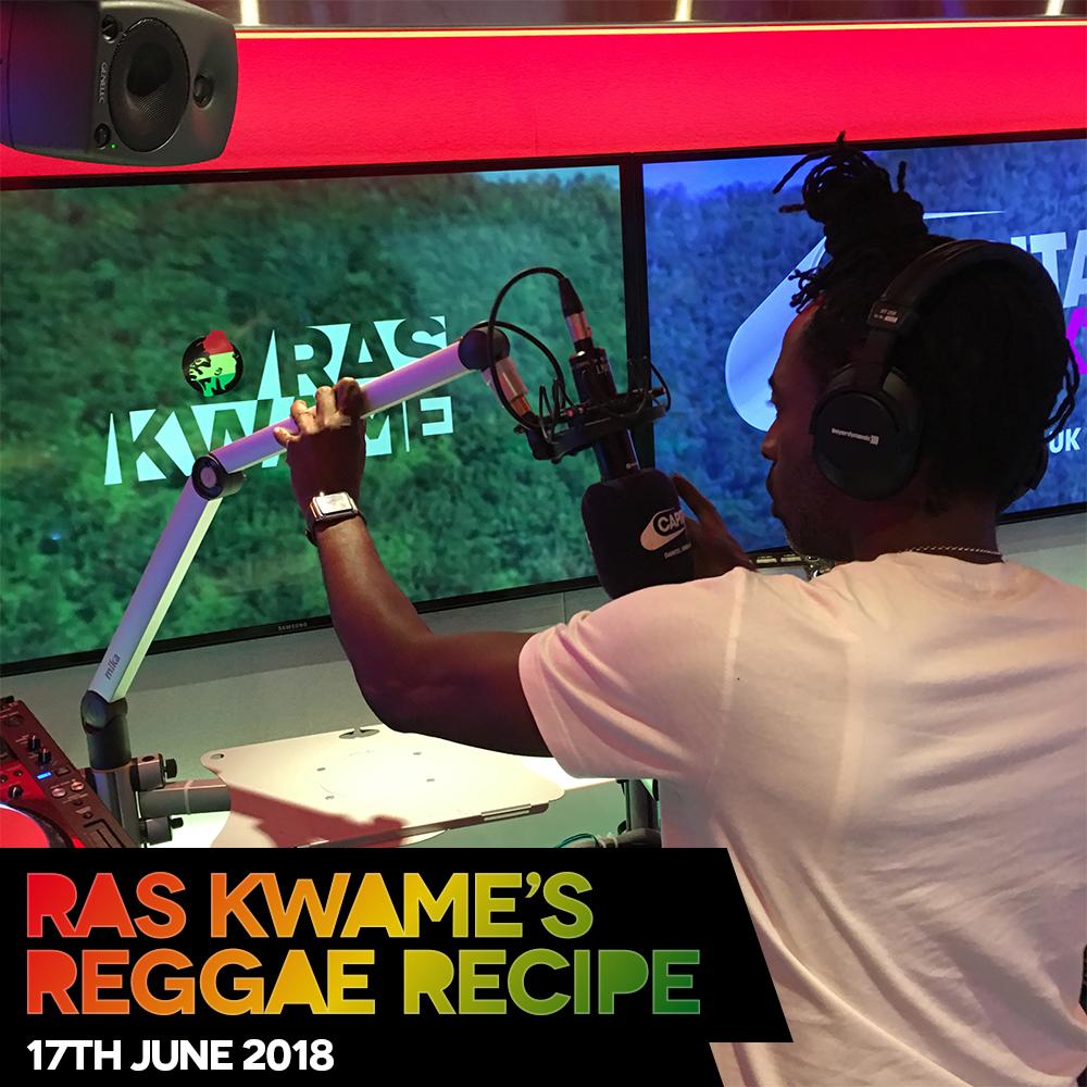 #ReggaeRecipe 17/06/18