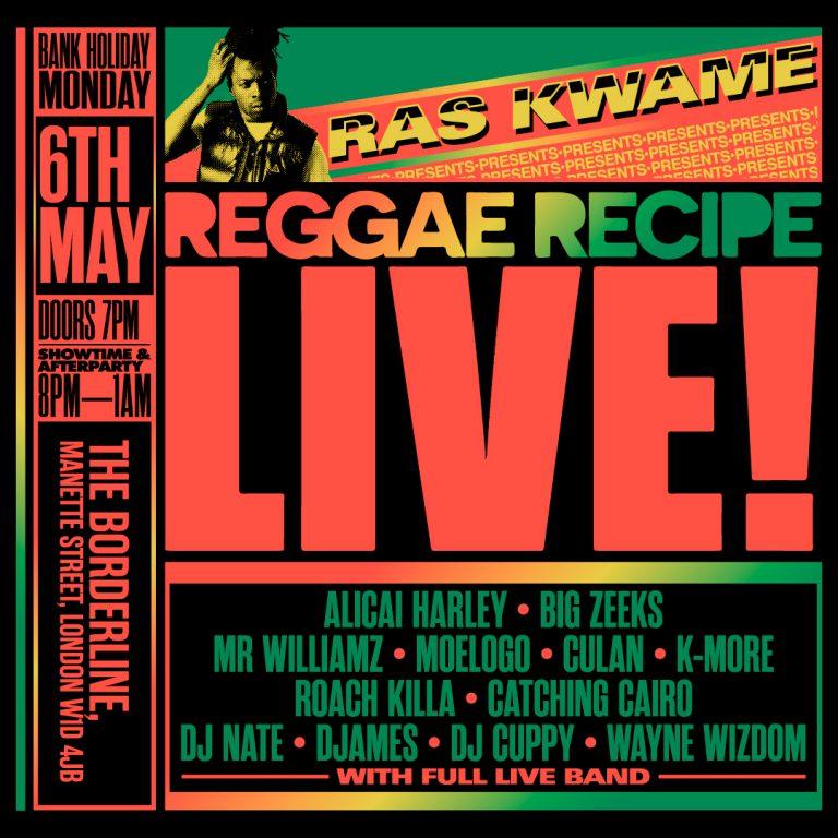 Reggae Recipe LIVE!